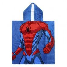 Spiderman Poncho til børn