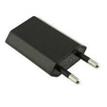 Sort USB oplader til gadgets
