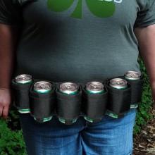 Ølbælte til 6 øl