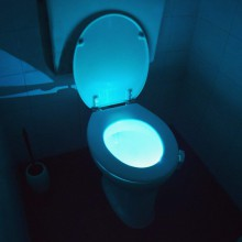 Toilet LED lys