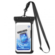 Vandtæt  pose  til  mobiltelefoner