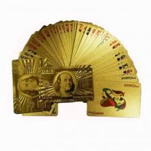 24 Karat Guld Spillekort