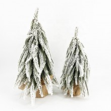 Juletræ med sne – 45 cm