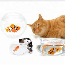 Elektrisk legetøjs fisk til katte