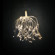 LED  stjernekugle  med  fjernbetjening