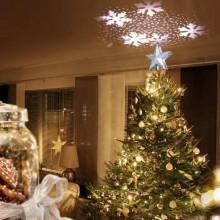 3D julestjerne med lysshow