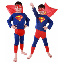 Supermand kostume til børn