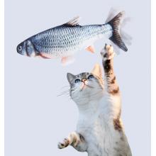 Sprællende legefisk til katte