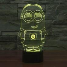 Minions  3D  lampe
