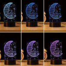 3D natlampe til børn