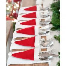 Julehuer til bestik – 6 stk