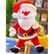 Hånddukke – julemand med guldpose