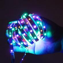 LED strip lyskæde vandtæt - 5m