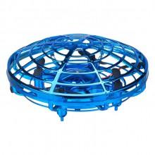 Håndstyret ufo drone - blå
