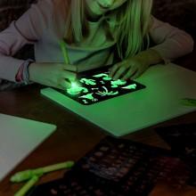 Magisk tegnebræt A4 – tegn med lys