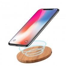 QI trådløs oplader – bambus