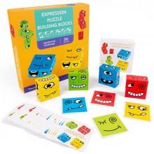 Cartoon  cube  logik  børnespil