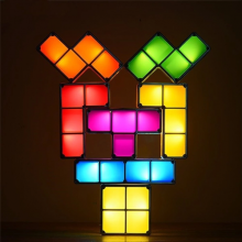 Tetris lampe – lav din egen lampe