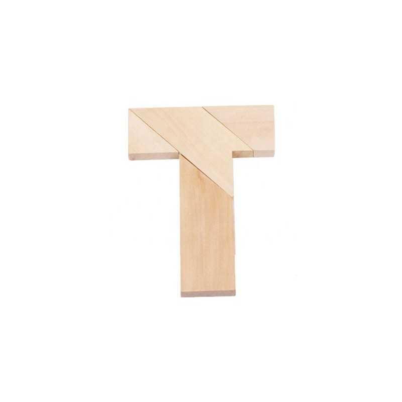 T puzzle - Kreativt træspil
