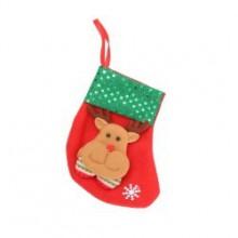 Julesok  til  juletræ  -  med  rensdyrhoved