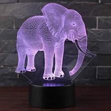 3D  Lampe  Elefant