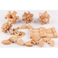 Cube puzzle sæt 6 stk