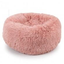 Donut hundeseng med plys - Flere farver