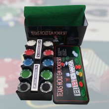 Texas Hold'em poker sæt