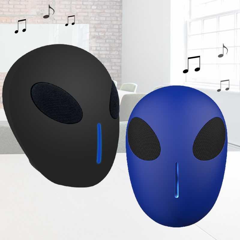 Trådløs alien højtaler med lys