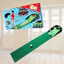 Minigolf sæt til børn - indendørs
