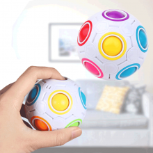 Magic Rainbow Fidget cube