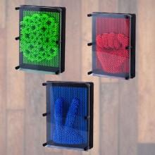 3D pin art tavle i flere farver