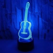 3D Guitar lampe