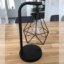 Bordlampe med lyskæde