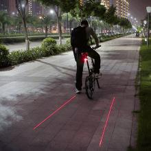 Laser  Baglygte  Til  Cyklen