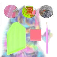 5D diamond paint kat – 40 x 40 cm