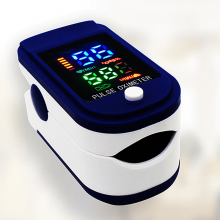 Puls og iltmåler til fingeren (oximeter)
