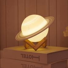 Saturn Led lamp - 11 cm