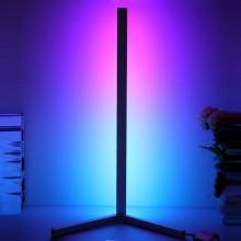 RGB hjørnelampe 50 cm - Med fjernbetjening