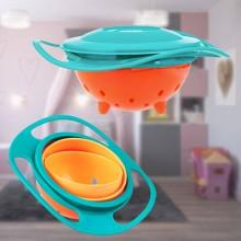 Gyro bowl spildfri spiseskål til børn