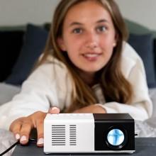 Mini projektor med HD opløsning