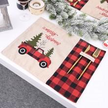 Juledækkeserviet – Merry Christmas