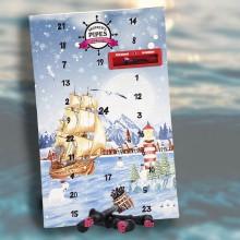 Lakridspibe julekalender fra Skipper's Pipe