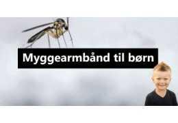Myggearmbånd til børn